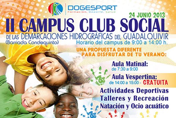 II Campus Club Social de las demarcaciones Hidrográficas del Guadalquivir