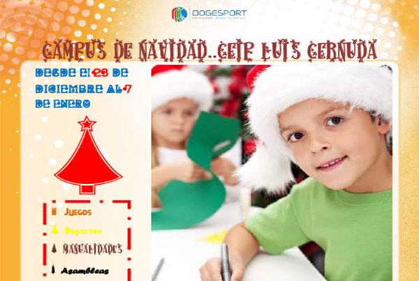 Campus de Navidad – CEIP Luis Cernuda