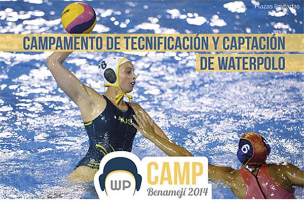 Campamento de tecnificación y captación de waterpolo
