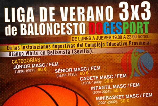 Liga de verano 3×3 de baloncesto Dogesport