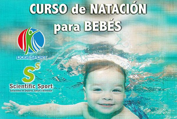 Curso de natación para bebés