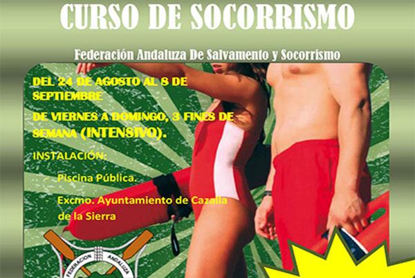 Cursos de socorrismo en Cazalla de la Sierra