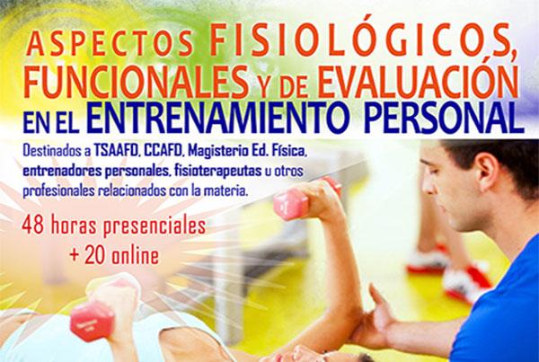 Aspectos fisiológicos, funcionales y de evaluación en el entrenamiento personal