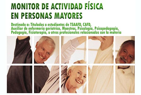 Monitor de actividad física en personas mayores