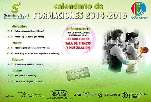 Calendario de Formaciones 2014/2015