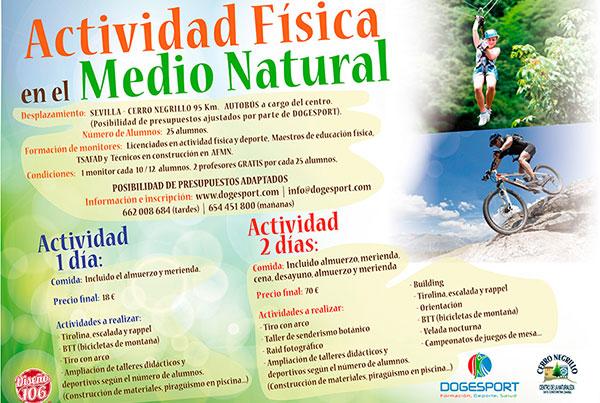 Actividad física en el medio natural