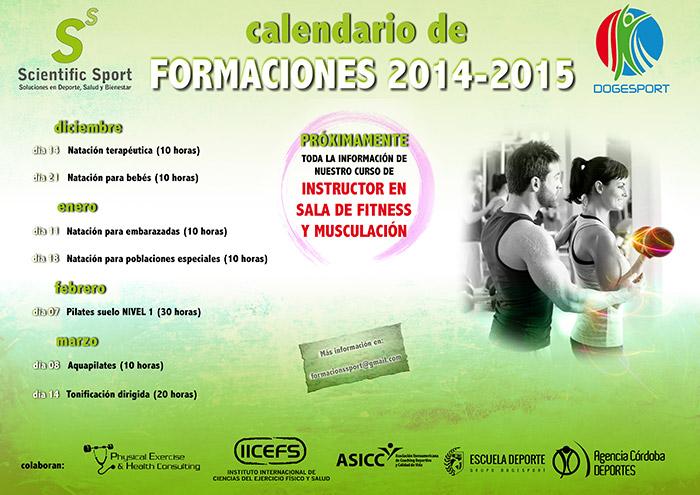 Calendario De Formaciones 2014 2015 Dogesport