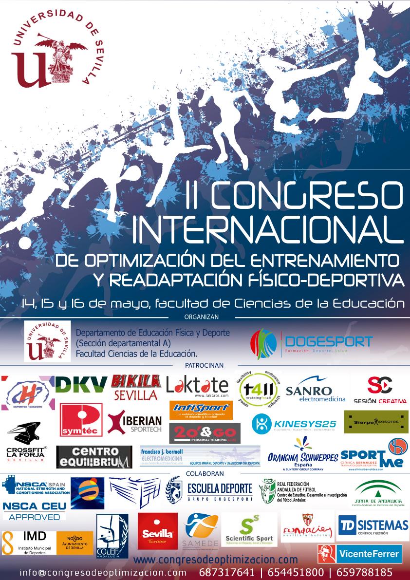 II Congreso Internacional de Optimización del Entrenamiento y Readaptación Físico Deportiva