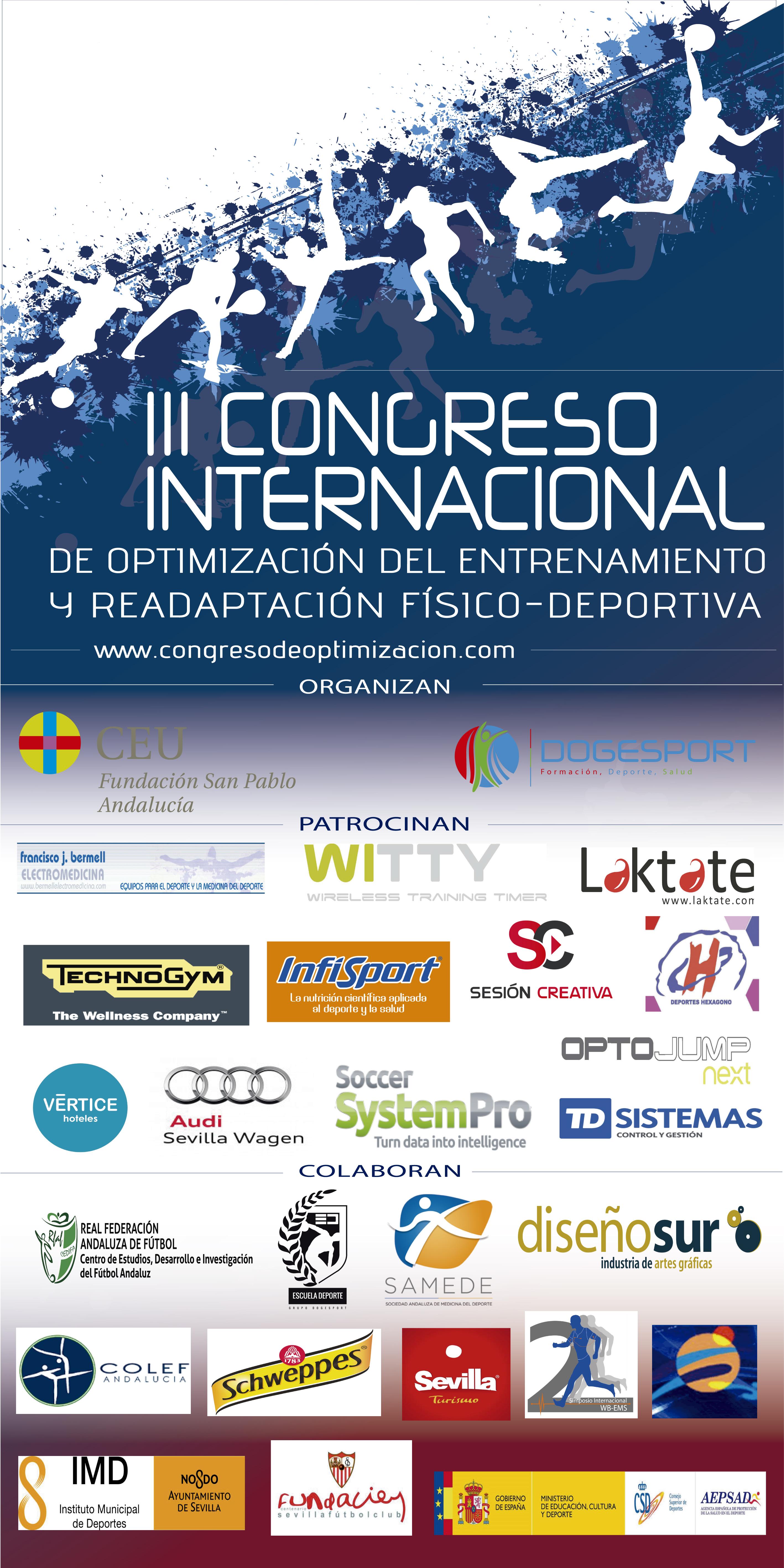 III Congreso Internacional en Optimización del Entrenamiento y Readaptación Físico Deportiva